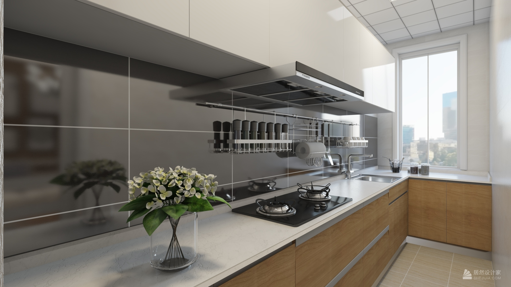 其它风格一室两厅装修设计效果图
