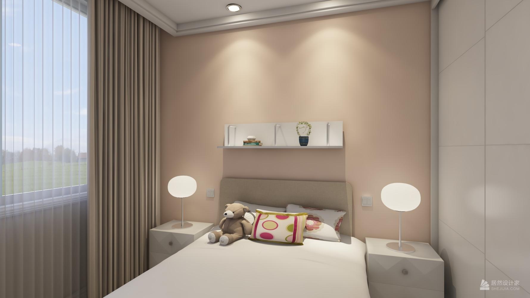 北欧风格一室两厅装修设计图