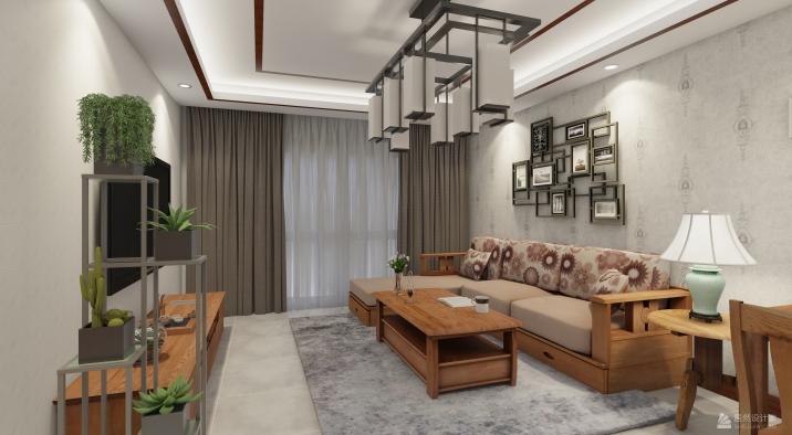 丰台区 天伦锦城1室2厅1卫 74m²中式一居