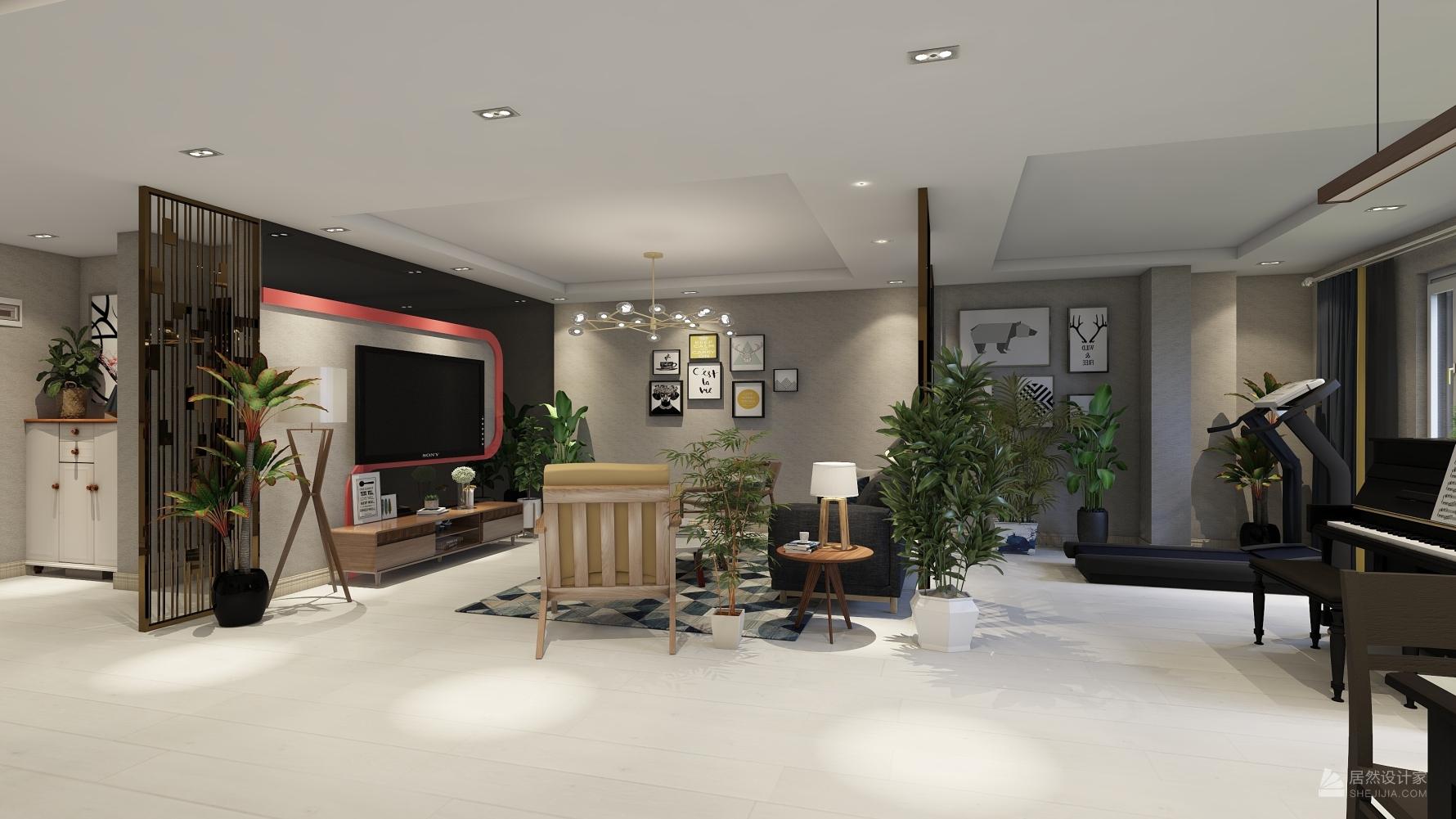 其它风格一室一厅装修设计图