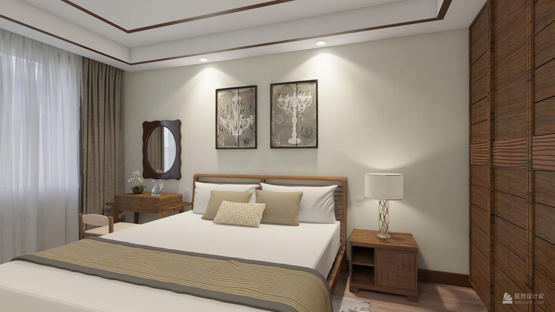 东南亚风格五室两厅装修设计图