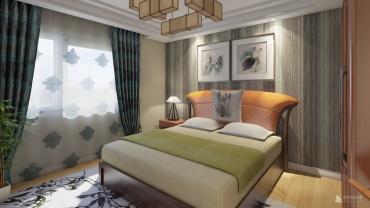日式风格五室两厅装修设计效果图