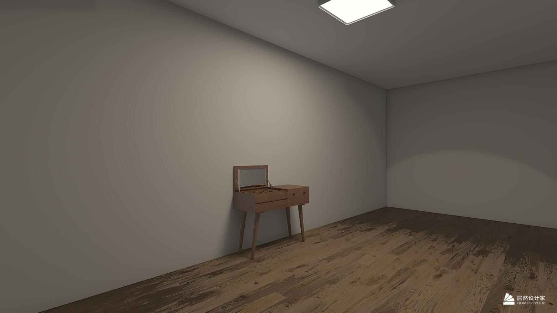 混搭风格一室一厅装修设计效果图