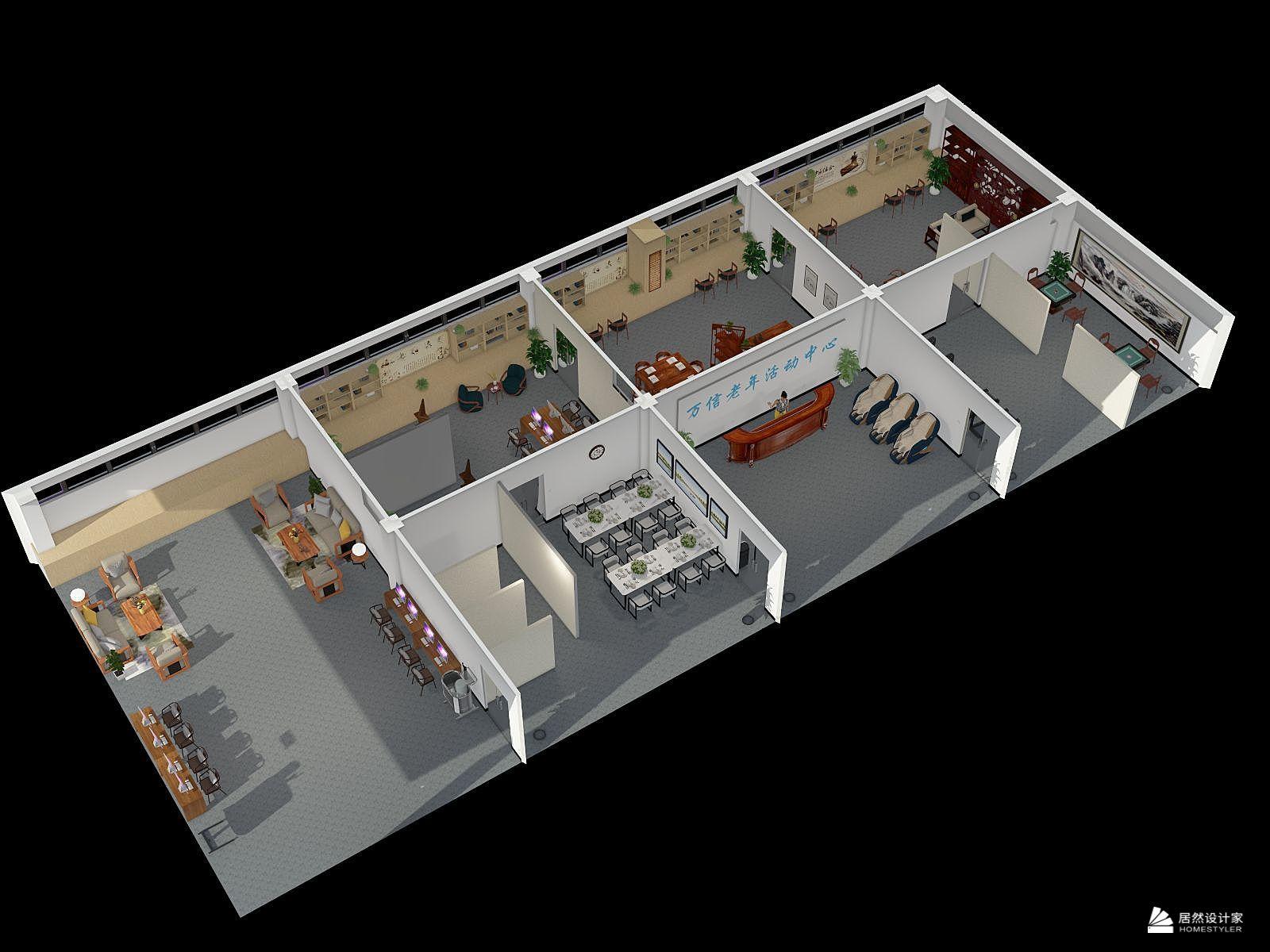 其它风格七室装修设计效果图