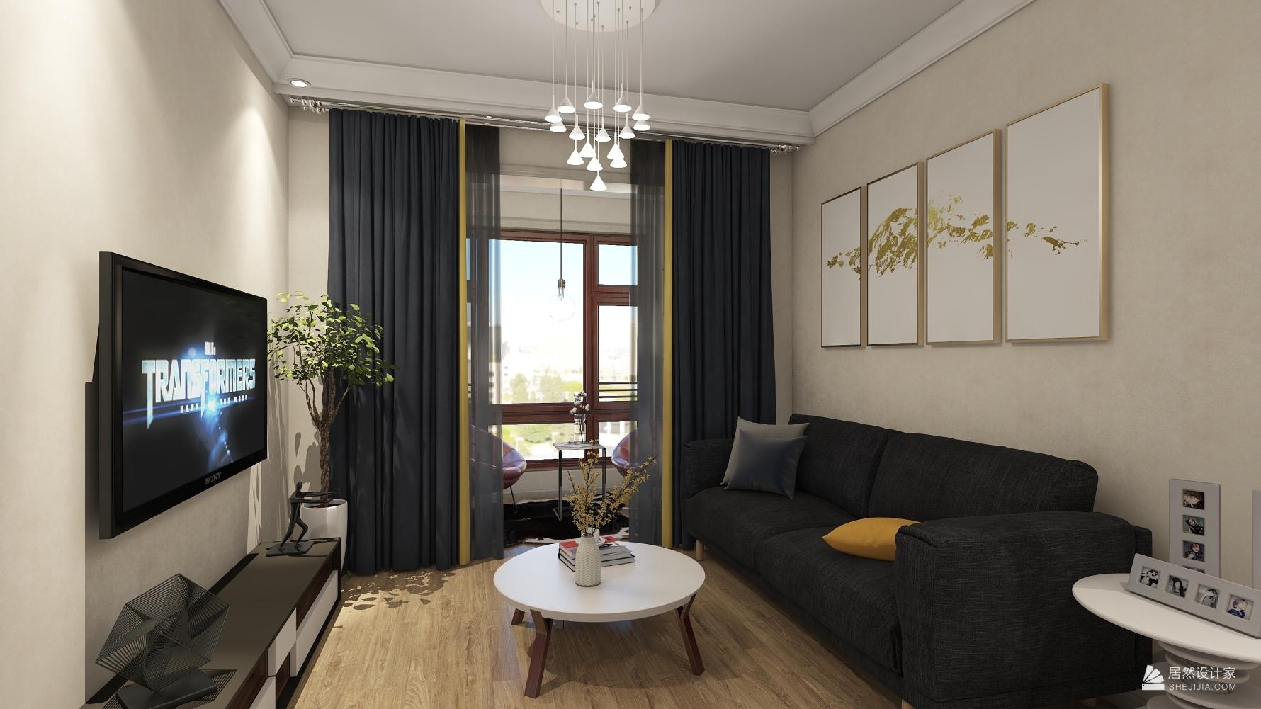 其它风格一室一厅装修设计效果图