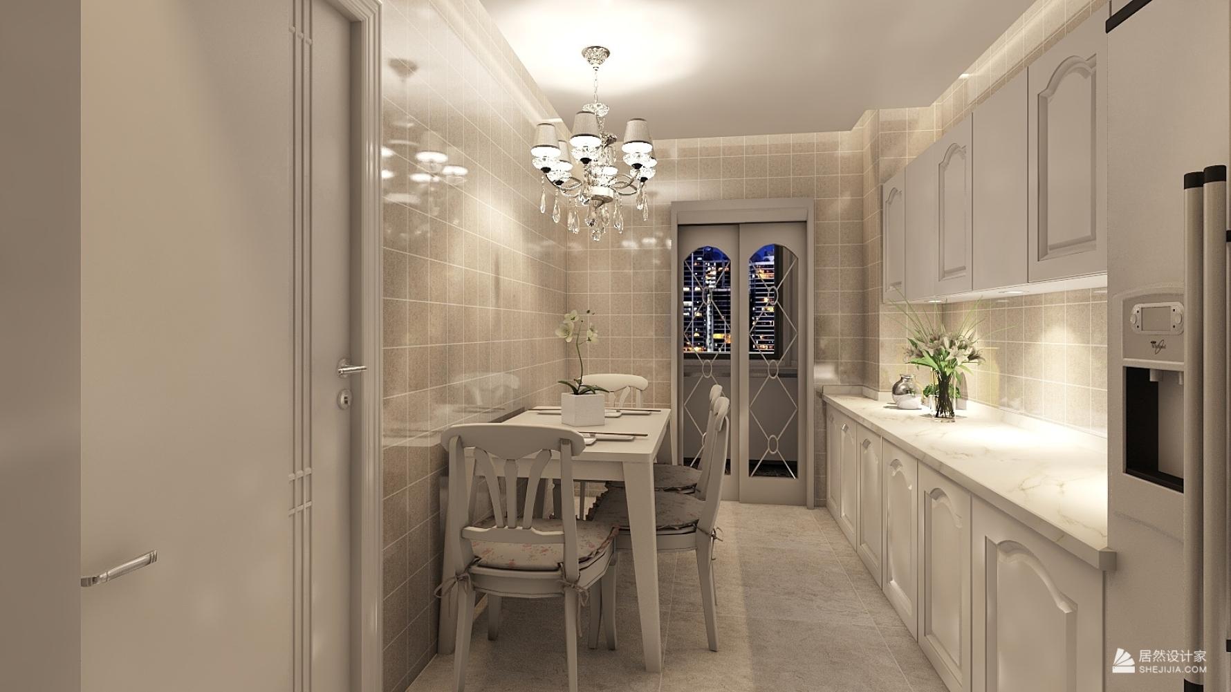 欧式风格两室一厅装修设计图