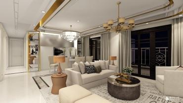 其它风格四室两厅装修设计效果图