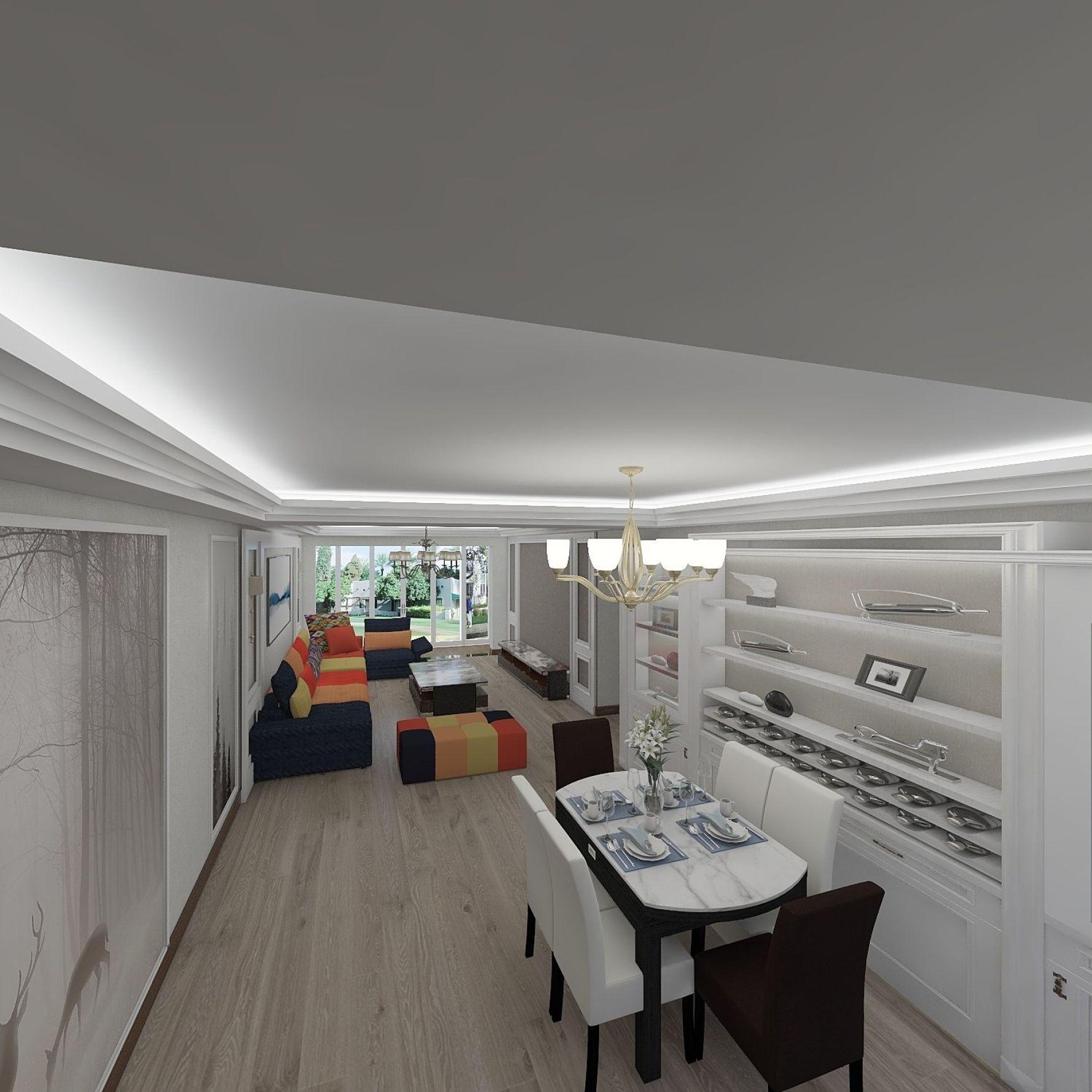 北欧风格四室两厅装修设计效果图