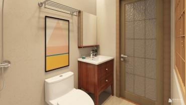 日式风格两室一厅装修设计效果图