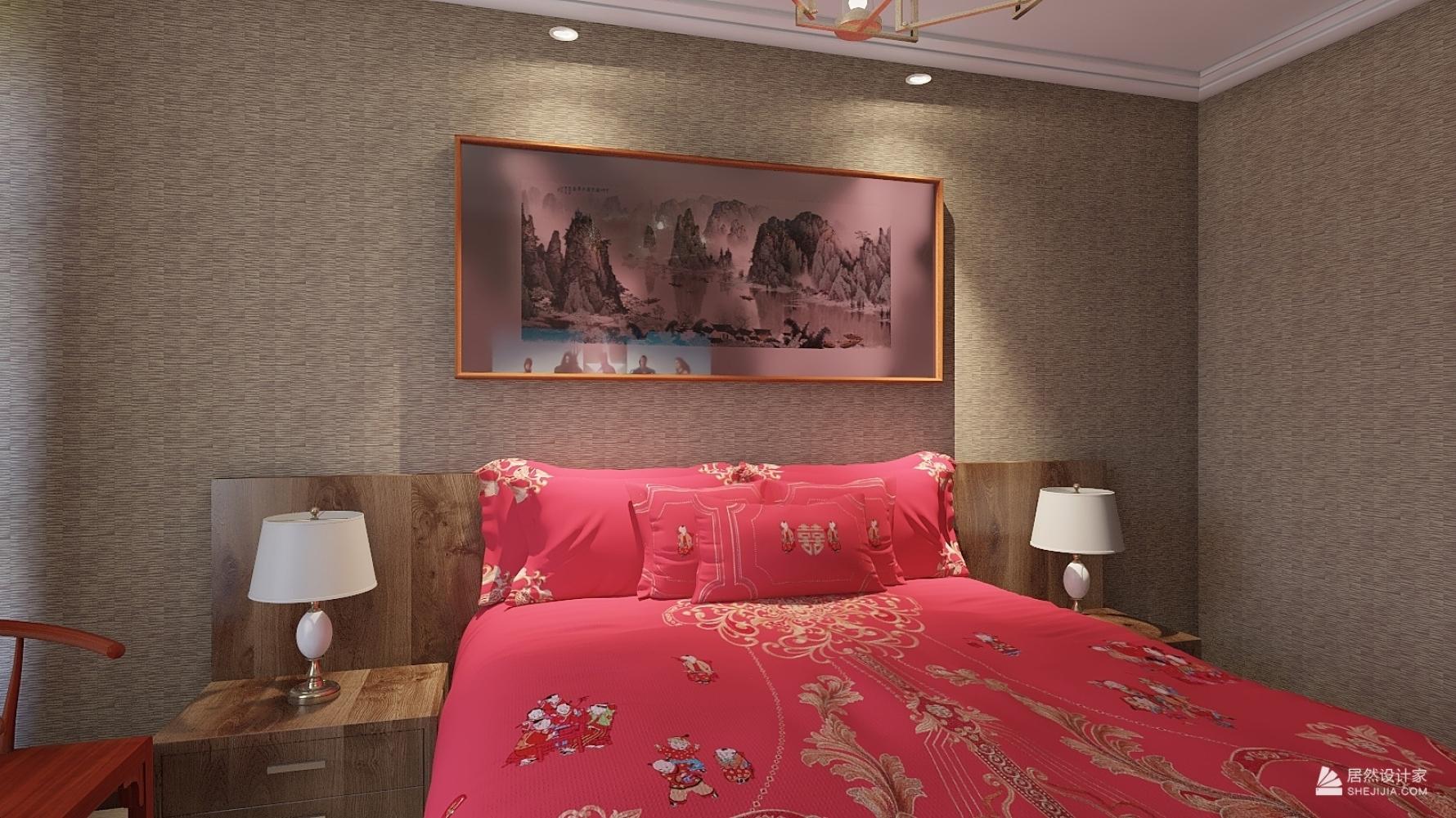 日式风格两室两厅装修设计图