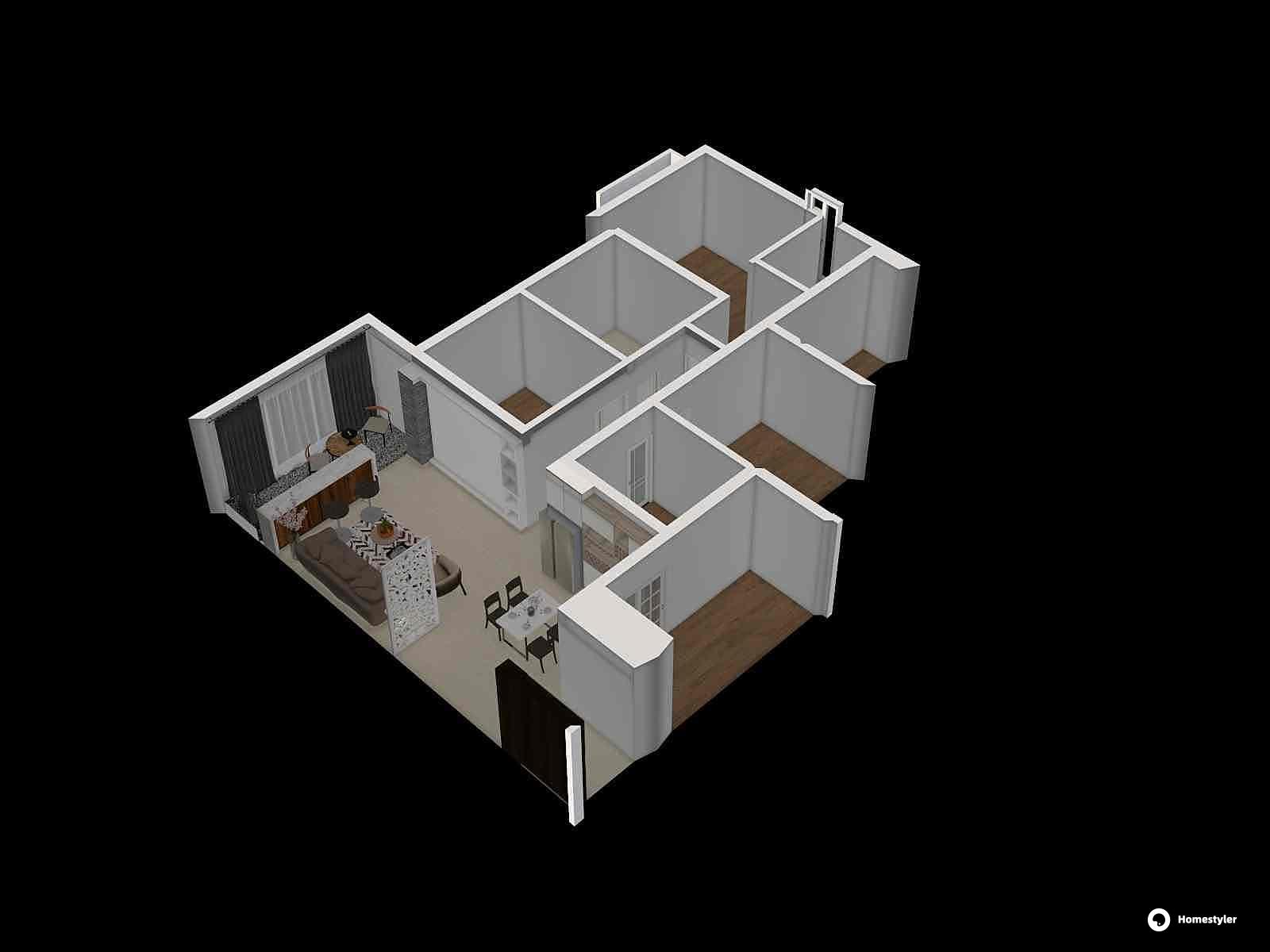 欧式风格四室两厅装修设计效果图