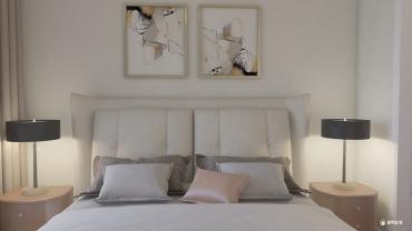 欧式风格两室两厅装修设计效果图