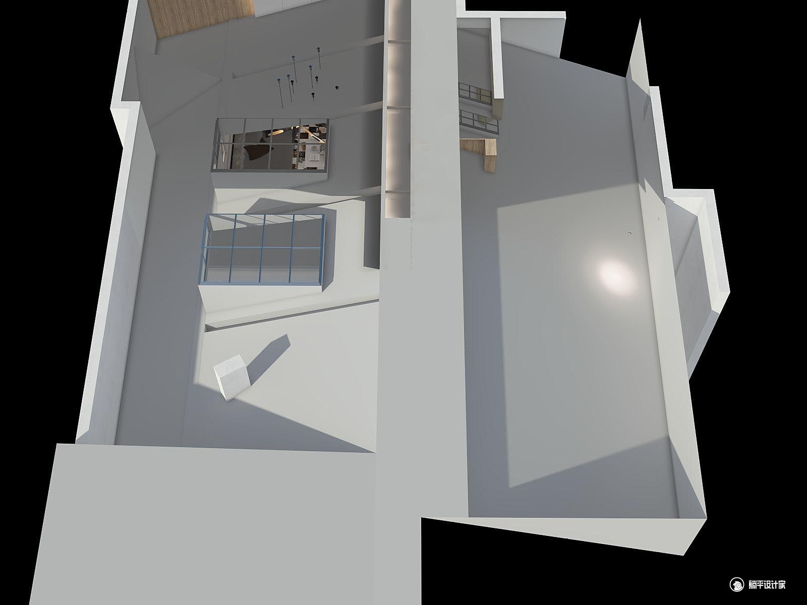 现代风格五室四厅装修设计效果图