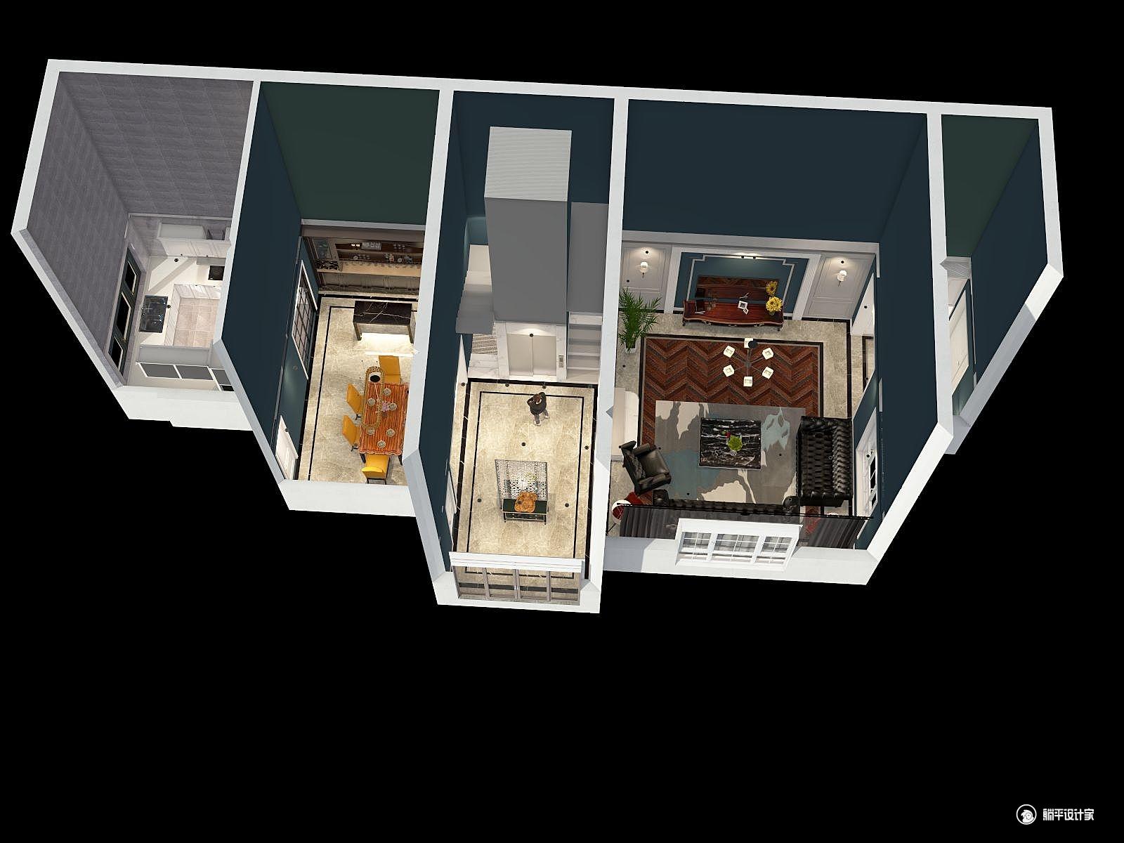 其它风格五室四厅装修设计效果图