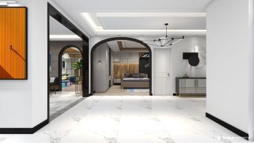现代风格六室一厅装修设计效果图