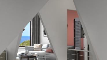 北欧风格一室两厅装修设计效果图