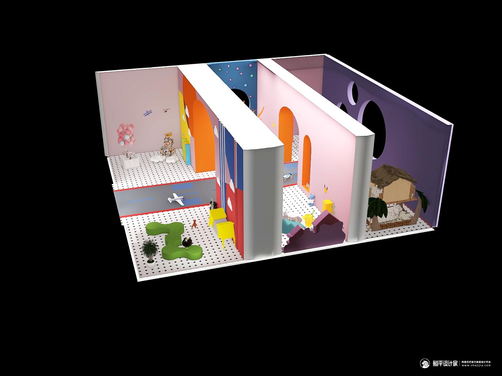 其它风格三厅装修设计效果图