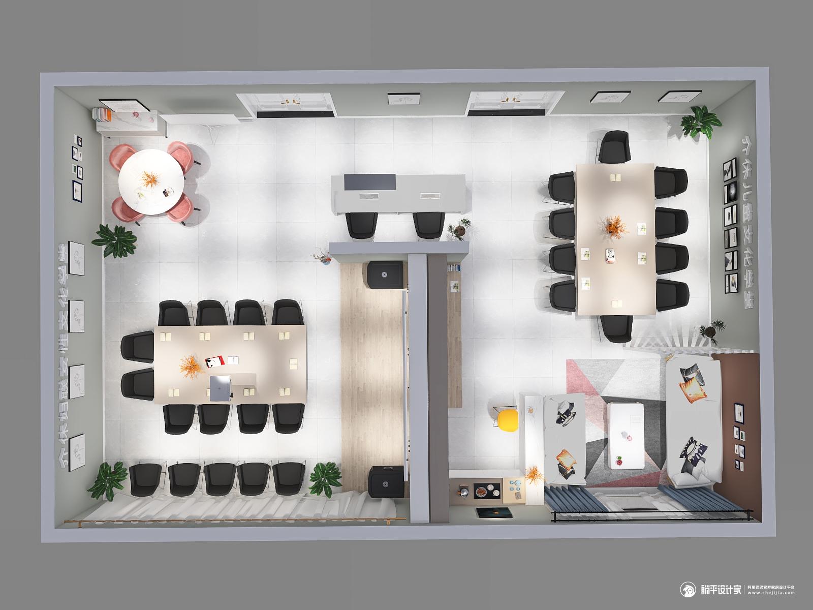 其它风格两室装修设计效果图